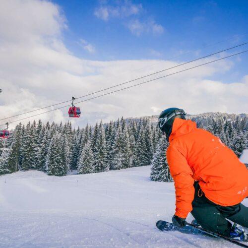 Ski sur le domaine Les Gets-Morzine