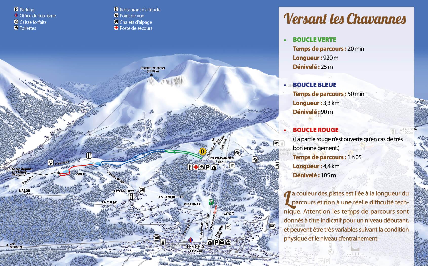 Ski de Fond Chavannes Les Gets
