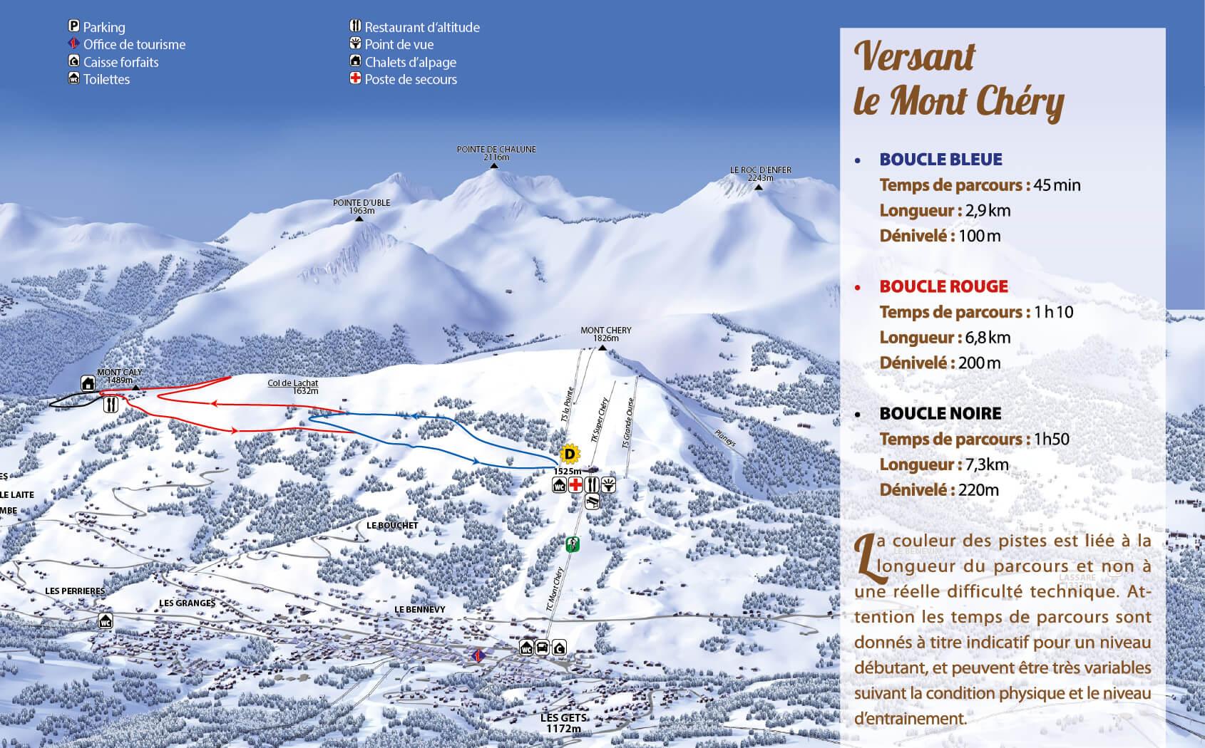 Ski de fond Les Gets Mont Chéry