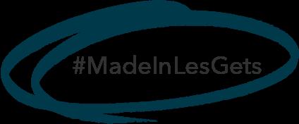 Logo noir #MadeinLesGets
