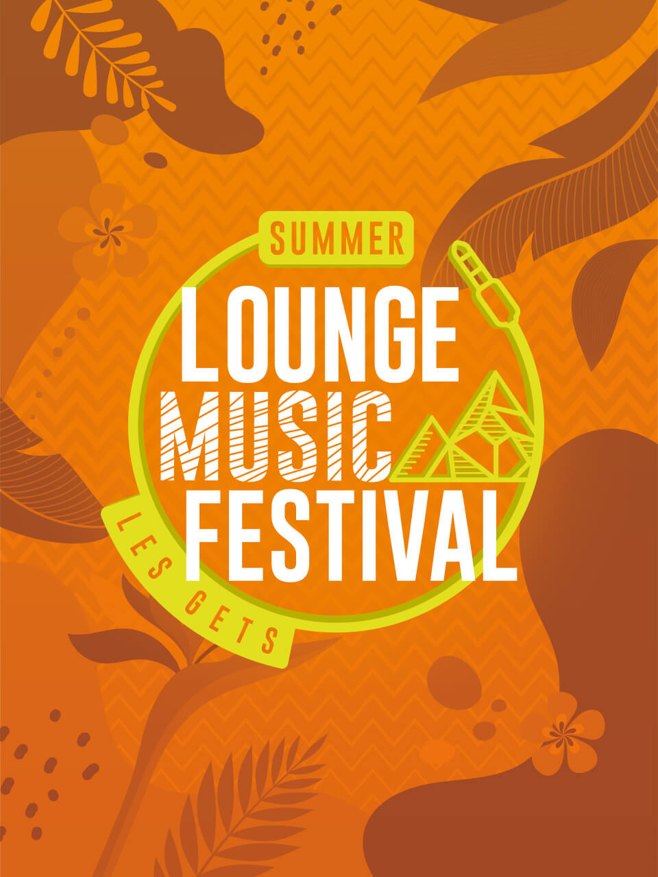Affiche 2020 Lounge Music Festival