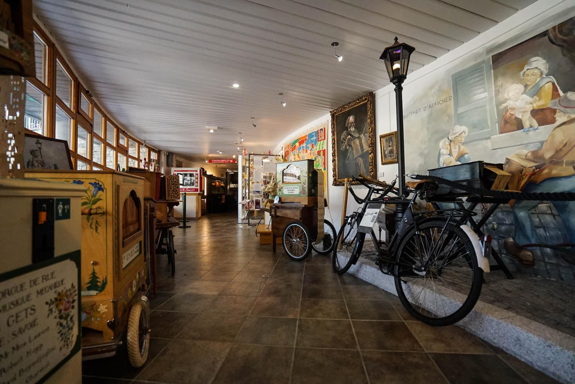 musée de la musique mécanique intérieur